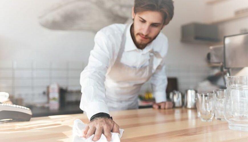 torkar avtorkar i kök Hygiengruppen pappersprodukter